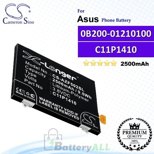 CS-AZF502SL For Asus Phone Battery Model 0B200-01210100 / C11P1410