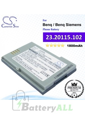CS-BQ50SL For Benq / Benq-Siemens Phone Battery Model 23.20115.102