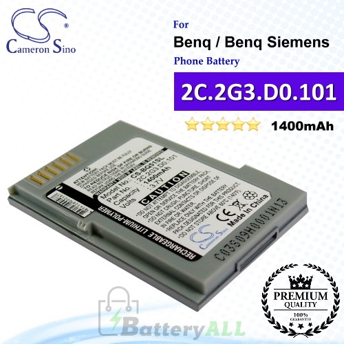 CS-BQ51SL For Benq / Benq-Siemens Phone Battery Model 2C.2G3.D0.101
