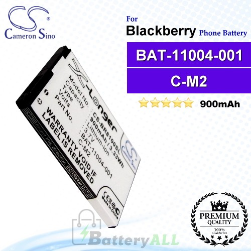 CS-BR8100SL For Blackberry Phone Battery Model BAT-11004-001 / C-M2