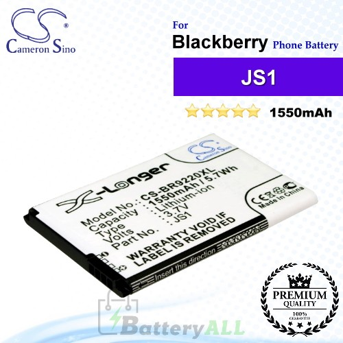 CS-BR9220XL For Blackberry Phone Battery Model JS1