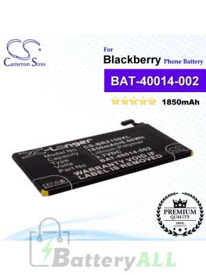 CS-BRZ150XL For Blackberry Phone Battery Model BAT-40014-002