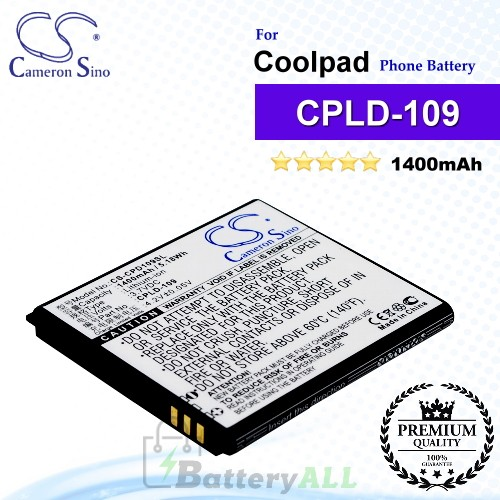 CS-CPD109SL For Coolpad Phone Battery Model CPLD-109