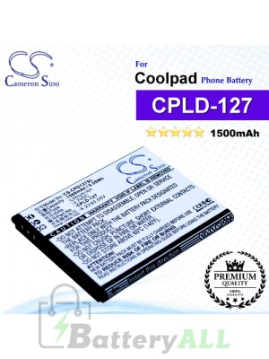 CS-CPD127SL For Coolpad Phone Battery Model CPLD-127