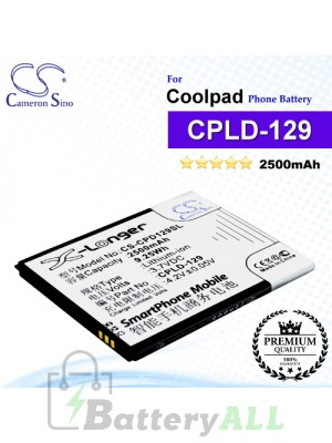CS-CPD129SL For Coolpad Phone Battery Model CPLD-129