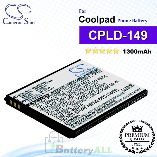 CS-CPD149SL For Coolpad Phone Battery Model CPLD-149