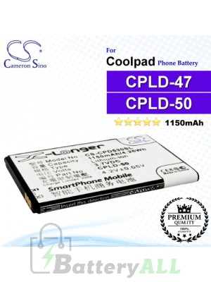 CS-CPD530SL For Coolpad Phone Battery Model CPLD-47 / CPLD-50