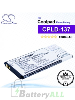 CS-CPD706SL For Coolpad Phone Battery Model CPLD-137