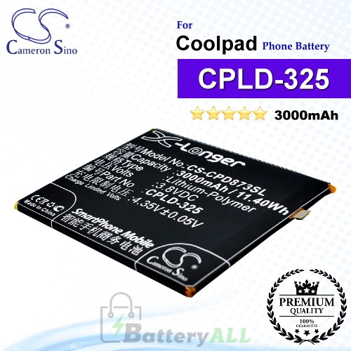 CS-CPD873SL For Coolpad Phone Battery Model CPLD-325