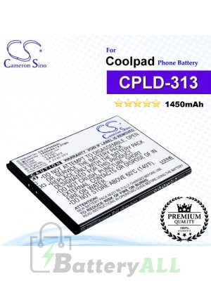 CS-CPD890SL For Coolpad Phone Battery Model CPLD-313