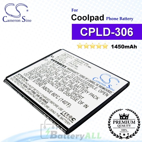 CS-CPD915SL For Coolpad Phone Battery Model CPLD-306