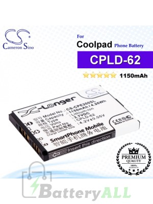 CS-CPE200SL For Coolpad Phone Battery Model CPLD-62