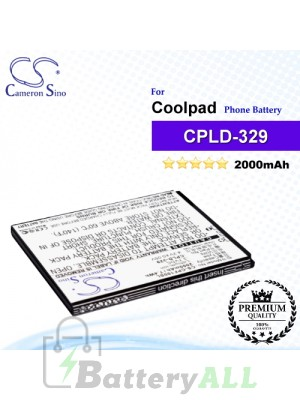 CS-CPF100SL For Coolpad Phone Battery Model CPLD-329 / CPLD-352