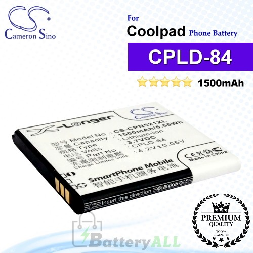 CS-CPN521XL For Coolpad Phone Battery Model CPLD-84