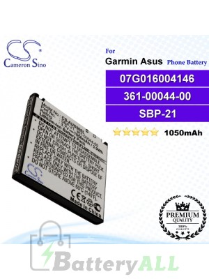 CS-AUS50SL For Garmin-Asus Phone Battery Model 07G016004146 / 361-00044-00 / SBP-21 / TCE2110104709376