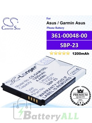 CS-GAM10SL For Garmin-Asus Phone Battery Model 361-00048-00 / SBP-23