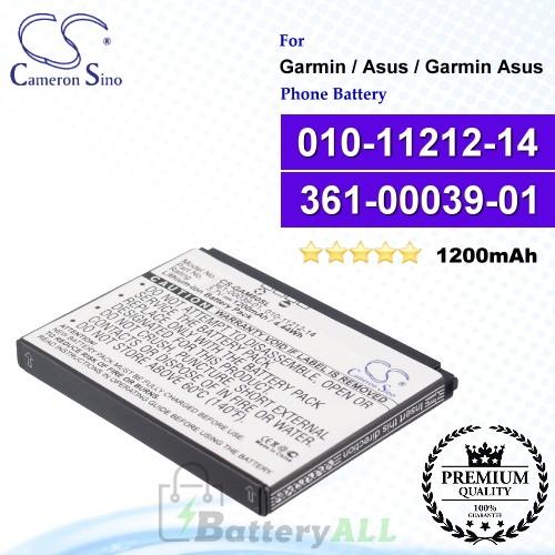 CS-GAM60SL For Garmin / Asus / Garmin Asus Phone Battery Model 010-11212-14 / 361-00039-01