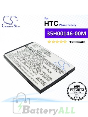 CS-HT6100SL For HTC Phone Battery Model 35H00146-00M