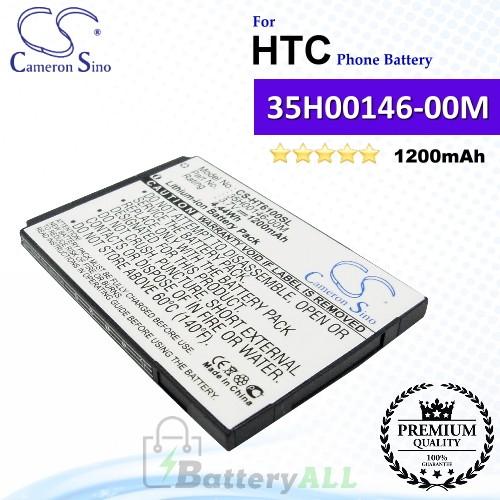 CS-HT6100SL For HTC Phone Battery Model 35H00146-00M