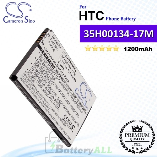 CS-HT8686SL For HTC Phone Battery Model 35H00134-17M