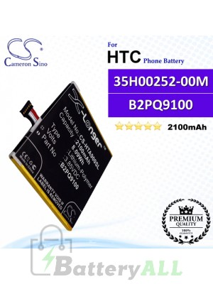 CS-HTA900SL For HTC Phone Battery Model 35H00252-00M / B2PQ9100
