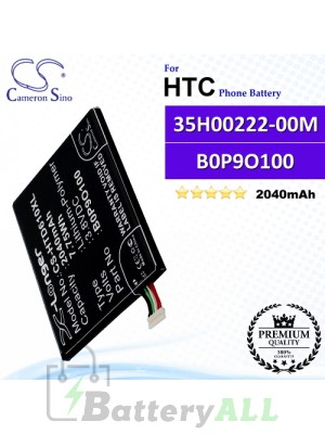 CS-HTD610XL For HTC Phone Battery Model 35H00222-00M / 35H00222-01M / B0P9O100 / BOP90100