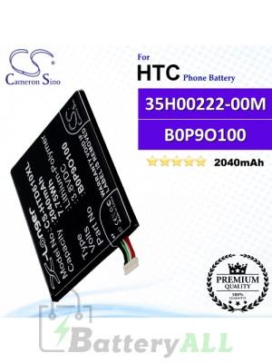 CS-HTD610XL For HTC Phone Battery Model 35H00222-00M / 35H00222-01M / B0P9O100 / BOP90100