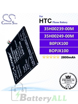CS-HTE900SL For HTC Phone Battery Model 35H00239-00M / B0PJX100 / BOPJX100
