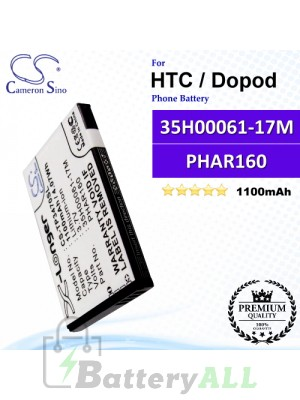 CS-TP3470SL For HTC / Dopod Phone Battery Model 35H00061-17M / PHAR160