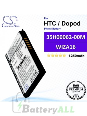 CS-WIZA16SL For HTC / Dopod Phone Battery Model WIZA16