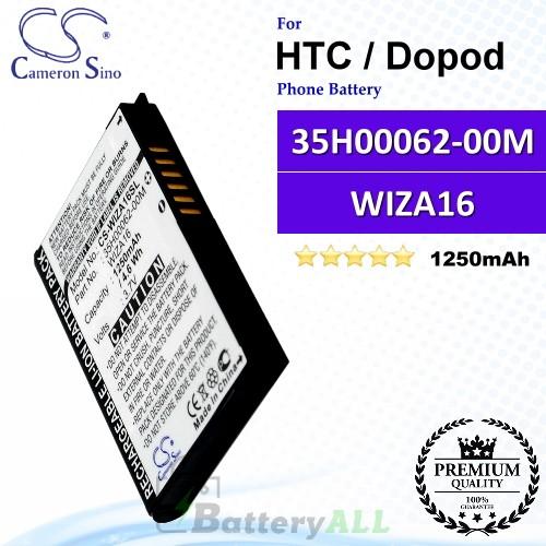 CS-WIZA16SL For HTC / Dopod Phone Battery Model WIZA16