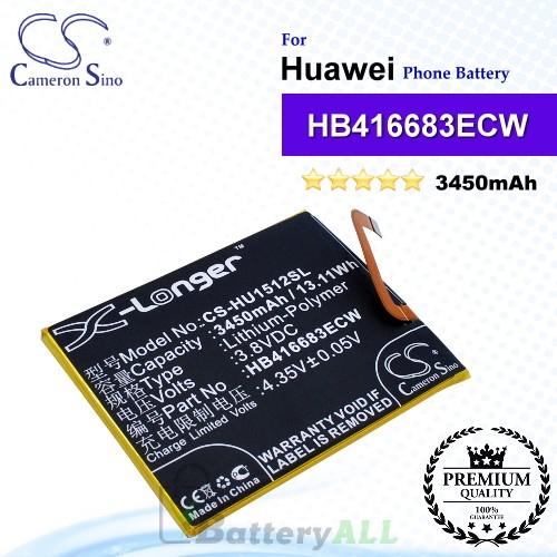 CS-HU1512SL For Huawei / Google Phone Battery Model HB416683ECW