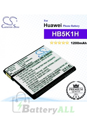 CS-HU8650SL For Huawei Phone Battery Model HB5K1H