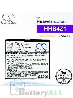 CS-HU9000SL For Huawei Phone Battery Model HHB4Z1