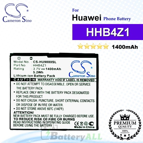 CS-HU9000SL For Huawei Phone Battery Model HHB4Z1