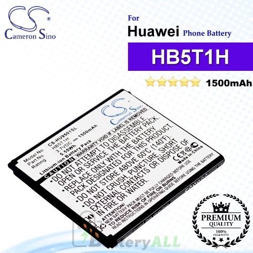 CS-HU9501SL For Huawei Phone Battery Model HB5T1H
