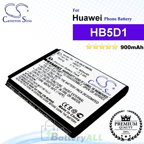 CS-HUC560SL For Huawei Phone Battery Model HB5D1