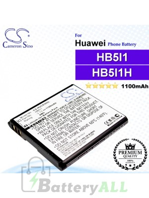 CS-HUC830SL For Huawei Phone Battery Model HB5I1 / HB5I1H
