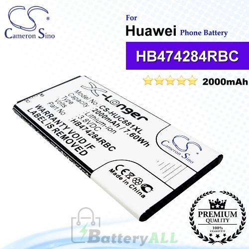 CS-HUC881XL For Huawei Phone Battery Model HB474284RBC