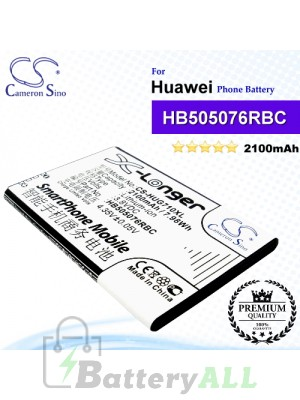 CS-HUG710XL For Huawei Phone Battery Model HB505076RBC