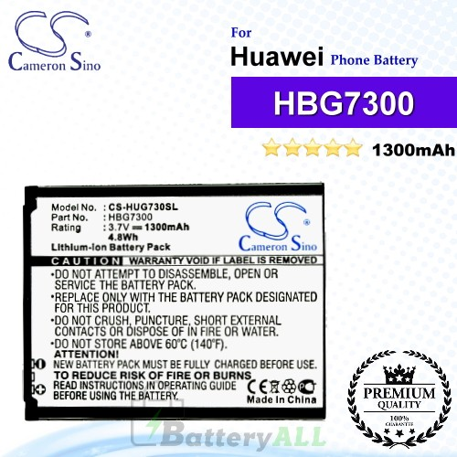CS-HUG730SL For Huawei Phone Battery Model HBG7300