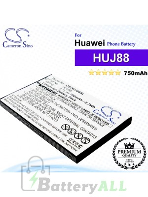 CS-HUJ88SL For Huawei Phone Battery Model HUJ88