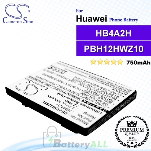 CS-HUM328SL For Huawei Phone Battery Model HB4A2H / PBH12HWZ10