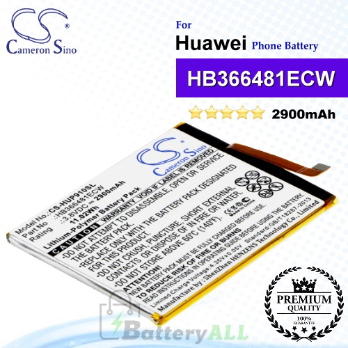 CS-HUP910SL For Huawei Phone Battery Model HB366481ECW