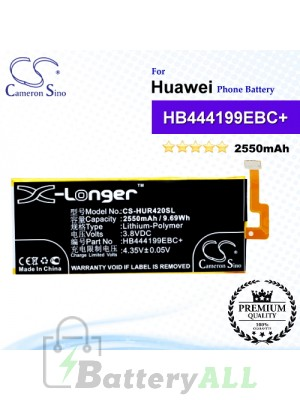 CS-HUR420SL For Huawei Phone Battery Model HB444199EBC+