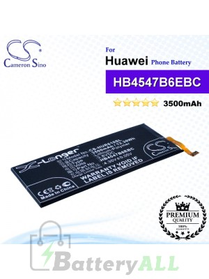 CS-HUR610SL For Huawei Phone Battery Model HB4547B6EBC