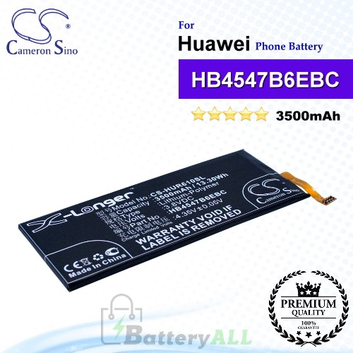 CS-HUR610SL For Huawei Phone Battery Model HB4547B6EBC