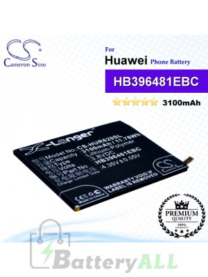 CS-HUR620SL For Huawei Phone Battery Model HB396481EBC