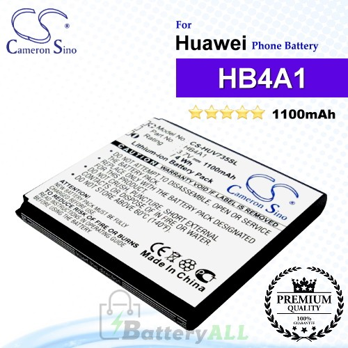 CS-HUV735SLFor Huawei Phone Battery Model HB4A1