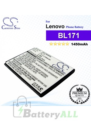 CS-LTA600SL For Lenovo Phone Battery Model BL171